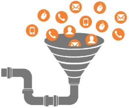 Full funnel sales and marketing